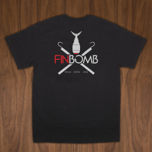 double gaff black t shirt back-01