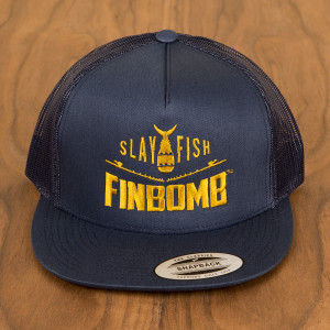 gold slayfish Navy front